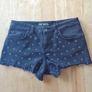 Vans junior denim shorts.